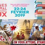 5 jeux présentés au FIJ 2019 sur le stand de Super Meeple