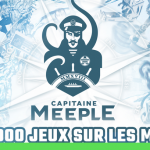 Capitaine Meeple: Concours pour gagner une croisière JEUX et 4 boites de jeux