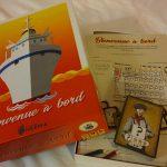 Bienvenue à bord, quelques photos de la boite ; jeu par Kaedama