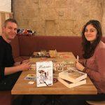 Montmartre : L'auteur et l'illustratrice se rencontrent… à Montpellier :)