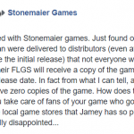 Stonemaier Games s'excuse sur Wingspan