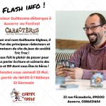 Guillaume Chifoumi au festival Caractères à Auxerre