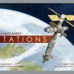 Leaving Earth: Stations dispo en anglais