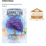 Arboretum a gagne le prix jeu de carte stratégie à la UK games expo