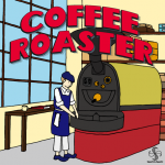 Coffee Roaster (jeu solo) chez Stronghold Games