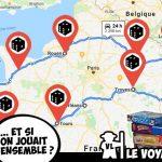 Aventure ludico humaine : tour de France avec 1 joueur