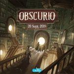 Obscurio sort le 20 septembre