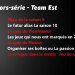 Hors-série – Team Est