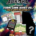 Cosmo Duck et Aurora sortent les jeux roll & write mensuels avec abonnement annuel
