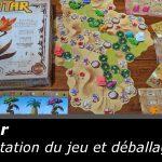 Présentation du jeu Ishtar (Iello / Bruno Cathala & Evan Singh)