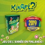 Kikafe jeu de l'année en Finlande