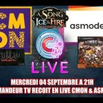 CMON & Asmodee en direct sur CTV