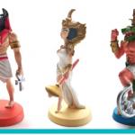 Cleopatre : les figurines peintes