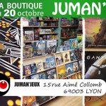 Juman'jeu boutique / salle de jeux à Lyon  sur Ulule