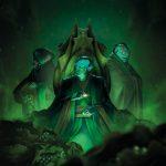 Bombyx : 3eme couverture d'Abyss Conspiracy (couverture verte)