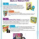 Marie et Wilfried FORT : des auteurs très en vogue de jeux pour enfants