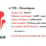 N°110 – Chroniques