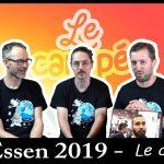 Un monde de jeux: debrief Essen + retours sur les jeux joués (post Essen) : super format !