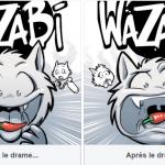Extension Wazabi chez Gigamic (vote pour le graphisme)