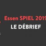 Proxi-Jeux : le debreif d'Essen Spiel 2019