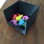 Draftosaurus : des petits boitiers 3D pour cacher vos dinos (pour ceux qui ont des petites mains c'est parfait)