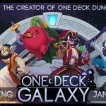 One Deck Galaxy sur KS le 7 janvier (retours des joueurs au PAXU très bon, ils ont même vendus des démo du jeu, une première?)
