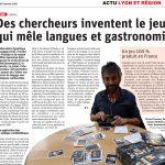 Des chercheurs inventent le jeu qui même langues et gastronomie