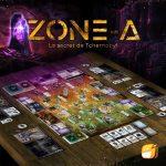 Zone-A en VF chez Funforge : des infos en plus