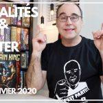 Actualités Jeux & Kickstarter – 25 janvier 2020.