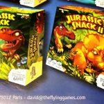 Jurassic Snack II : annonce cachée dans les règles de Mosquito Show