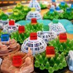 Un terraforming mars magnifique en résine (en vente à 179 € sur Etsy)