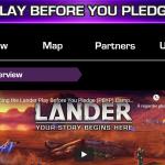 Jouez avant de pledger, politique de ce nouvel éditeur pour son jeu en développement depuis 3 ans : LANDER