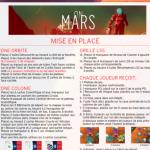 On Mars: Mise à jour du résumé de règles VF (résumé fort joli)