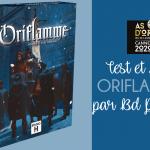 Oriflamme – Test et avis par BDPhilou – Studio H