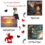 St Valentin chez GeekLette… c'est plutôt épine que pétale de roses et vous ?