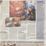 Tric trac dans le Nice Matin