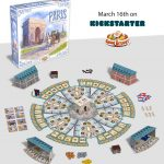 """""""Paris"""", le nouveau jeu de Kramer & Kiesling's chez Game Brewer, sur KS le 16 mars"""