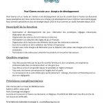 Pearl Games recrute un(e) chargé(e) de développement