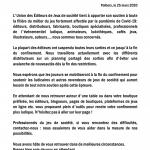 Un communiqué de l'UEJ (Union des Editeurs de Jeux)