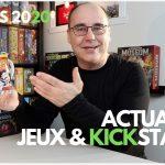 Actualités Jeux & Kickstarter – 28 mars 2020.