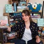 Le labo des jeux : web série épisode 3 : Camille Chaussy illustratrice de talent!
