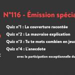 N°116 – Emission spéciale
