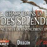 30 mai: Es-Tu Game lance une levée de fond (pour les travailleurs culturels affectés par les fermetures des salles de spectacle) au travers d'une partie de Donjon & Dragon sur Discord