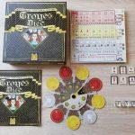 Peal Games présente le matériel définitif de Troyes Dice (sortie prévue: Sept-Oct 2020)