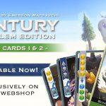 deux ensembles de cartes bonus pour Century version Golem