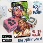 Imperial settlers Roll & Write : mise à jour disponible pour l'application mobile