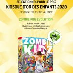 Kiosque d'or du festival du jeu de Valence (que j'ai adoré au passage) : Wingspan (expert), It's a wonderful World (famille), Zombie Kidz Evolution (enfants)