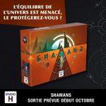Studio H annonce Shamans : rôles cachés, mécanique de pose de cartes originale…