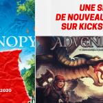 Une semaine de nouveaux jeux sur Kickstarter (#9 du 30 juin 2020)