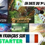 Jeux en français sur Kickstarter – 1er Juillet 2020